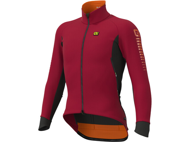Alé Cycling Clima Protection 2.0 Race Nordik Jas Heren, masai red